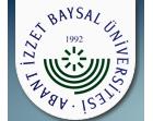 ABANT İZZET BAYSAL ÜNİVER. / BOLU